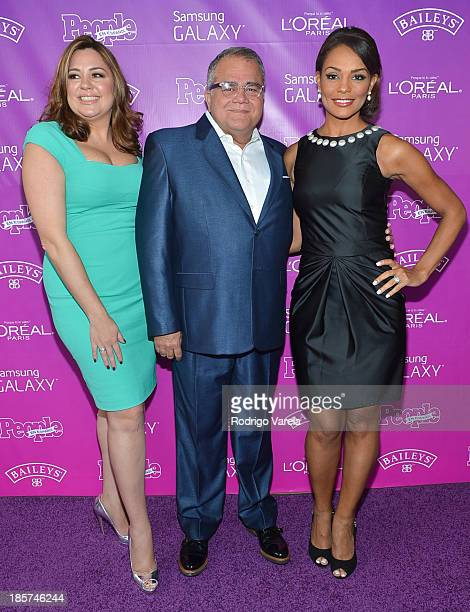 Monique Manso Armando Correa and Ilia Calderon arrive to People en Espanol's 25 Most Powerful Women Luncheon at Coral Gables Country Club on October...