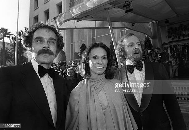 Monique Mercure a Canadian actress from Quebec is surrounded by film director Jean Beaudin and Marcel Sabourin an actor film director both of them...