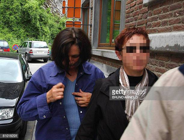 Monique Olivier the wife of French forestry Michel Fourniret arrives 01 July 2004 at Dinant's court house Hot on the heels of a pedophile murder...