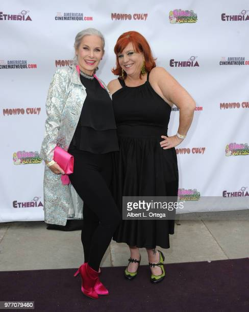 Monique Parent and Amanda Hall arrive for the 2018 Etheria Film Night held at the Egyptian Theatre on June 16 2018 in Hollywood California