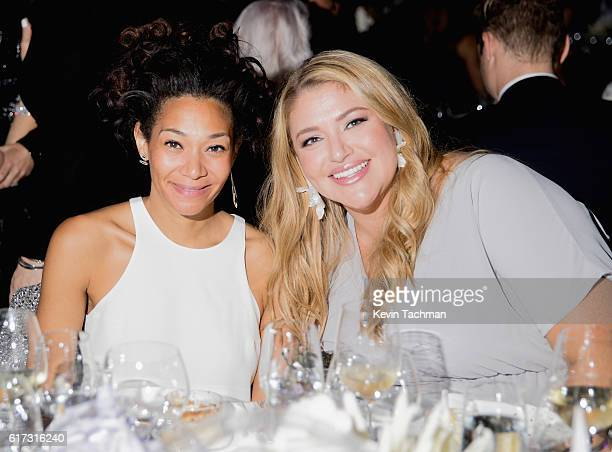 Monique Pean and Meg Looney attend TWO x TWO For AIDS and Art 2016 on October 22 2016 in Dallas Texas