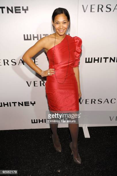 Monique Pean attends the 2009 Whitney Museum Gala at The Whitney Museum of American Art on October 19 2009 in New York City