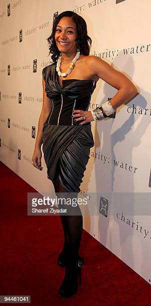 Monique Pean attends the 4th annual Charity Ball 2009 gala at the Metropolitan Pavilion on December 14 2009 in New York City