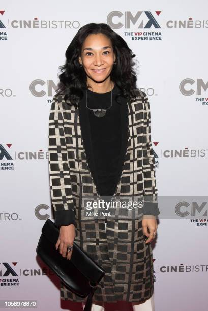 "Monique Pean attends the opening of CMX CineBistro with special screenings of ""BlacKkKlansman"", ""City Lights"" & ""Pretty Baby"" at CMX CineBistro on..."