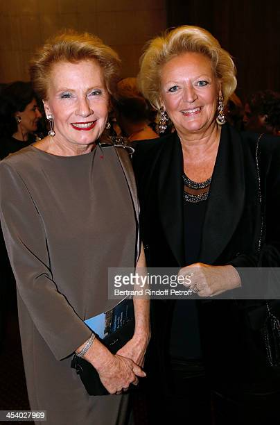 Monique Raimond and Princess Beatrice de Bourbon Siciles attending the celebration of 26 Years of Russian French Friendship by the 'Association of...