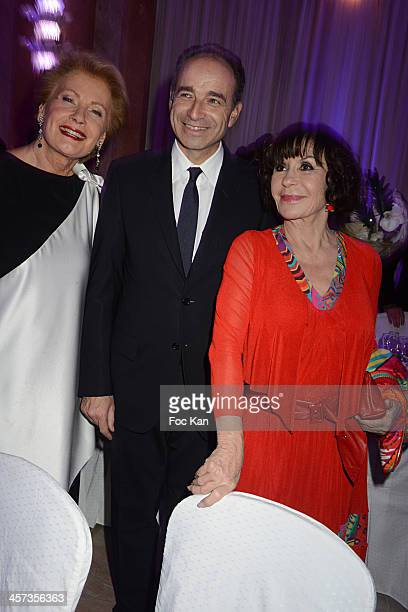 Monique Raymond Jean Francois Cope and Daniele Evenou attend the 'The Best 2013' Ceremony Awards 37th Edition at the Salons Hoche on December 16 2013...