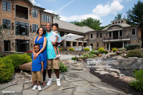 Monique Samuels, along with her husband, former Redskin Chris Samuels, and two children, Christopher and Milani have their family life and home...