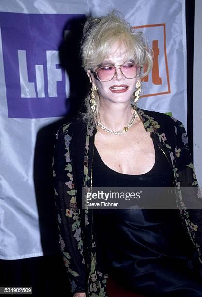Monique van Vooren at Lifebeat Benefit New York 1990s