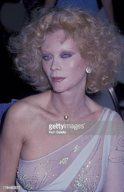 Monique van Vooren attends an award ceremony at the New York Hilton Hotel New York New York April 30 1978