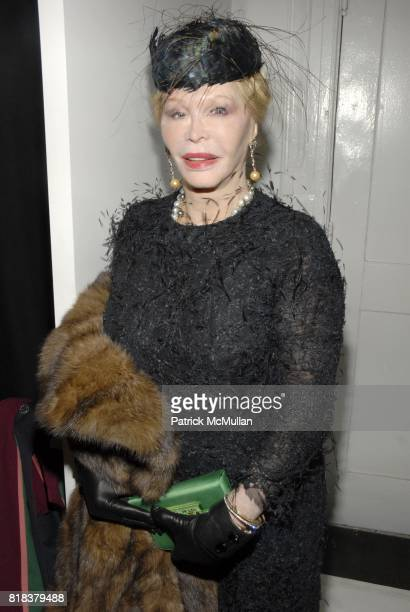 Monique van Vooren attends CHADO RALPH RUCCI Fall 2010 Collection at 536 Braodway on February 11 2010 in New York City