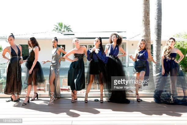 Monique Victoria, Ireland David, Joy Castillo, Anna Vallefuoco, Shannon Baker, Amanda Clason, Quiggle Ignacio, and Megan Pormer attend the Jonathan...