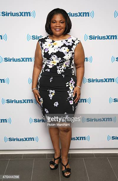 Mo'Nique visits at SiriusXM Studios on April 20 2015 in New York City