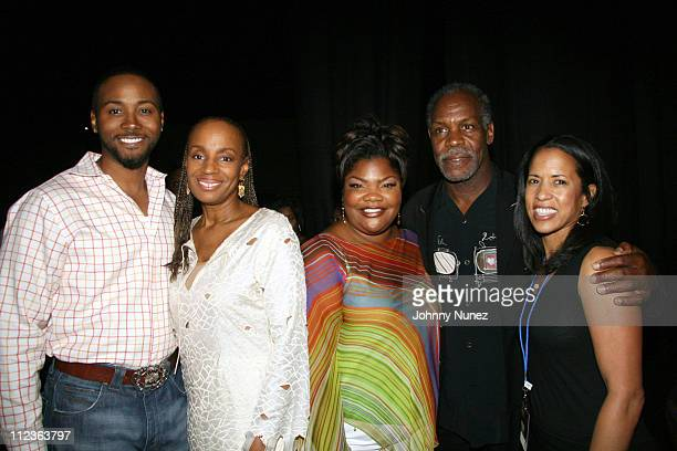 Mo'nique's husband Susan L Taylor Mo'nique Danny Glover and Michelle Ebanks