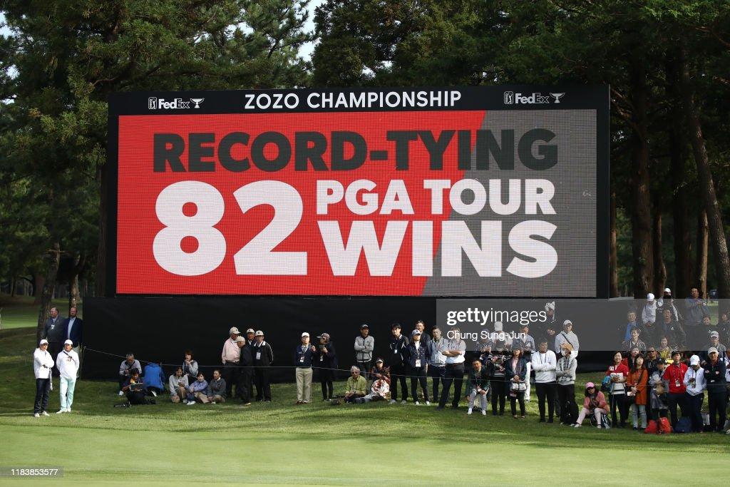 ZOZO Championship - Final Round : News Photo