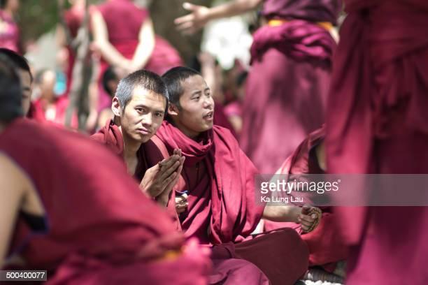 CONTENT] Monk Debate at Lhasa Sera Monastery Sera Monastery is one of the 'great three' Gelukpa university monasteries of Tibet located 125 miles...