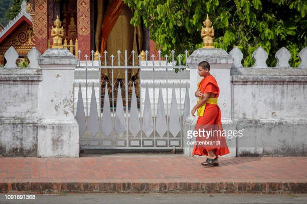 Monk in the street