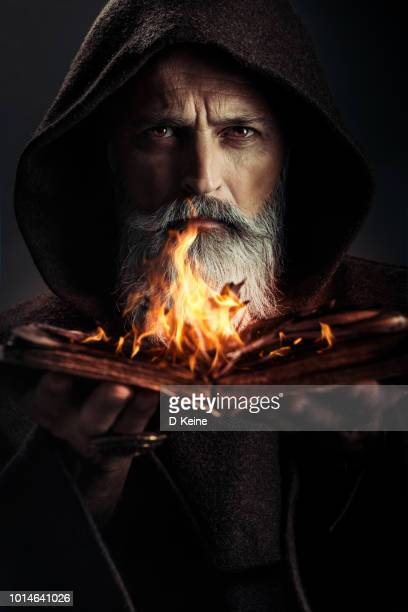 monk - wizard stock pictures, royalty-free photos & images