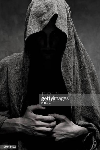 monk - hood clothing stock photos and pictures