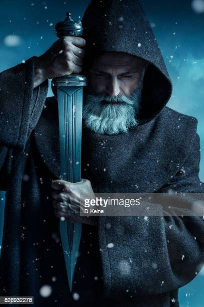 monk - warrior person stock photos and pictures