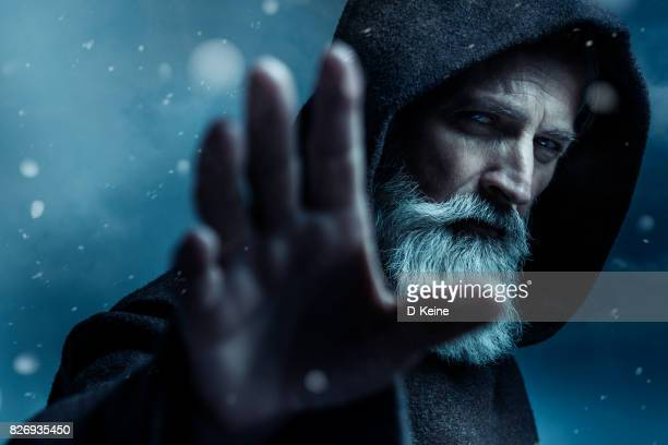 monk - dreamlike stock pictures, royalty-free photos & images
