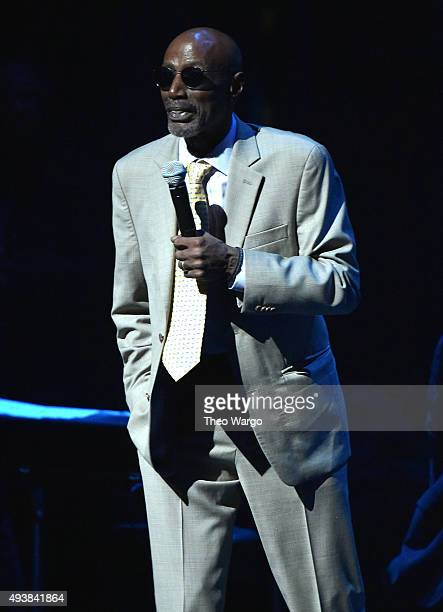 T S Monk speaks at The Jazz Foundation of America Presents the 14th Annual 'A Great Night in Harlem' Gala Concert to Benefit Their Jazz Musicians...