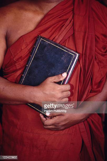 Monk With Book