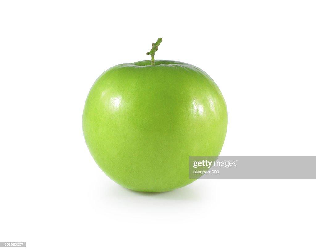 Monkey Apple Green Fruit of Nature on white : Stock Photo