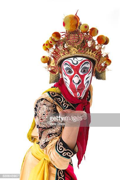monkey king - headdress stock pictures, royalty-free photos & images