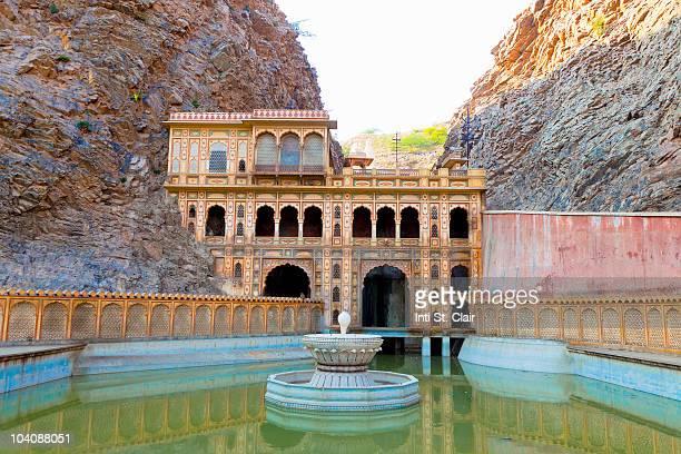 Monkey Temple, Galta or Galtaji, Jaipur, India