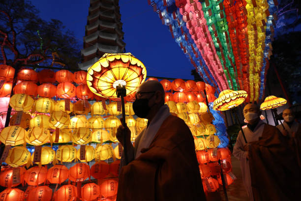 KOR: Monks And Worshippers Prepare To Celebrate Buddha's Birthday
