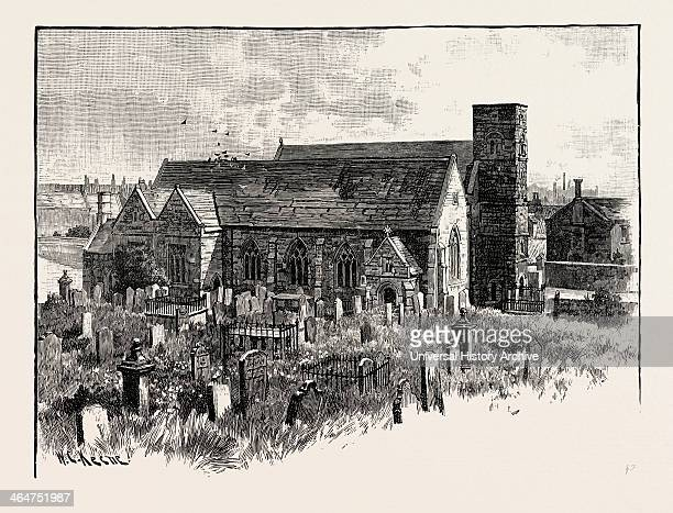 Monkwearmouth Church Monkwearmouth Is An Area Of Sunderland Located At The North Side Of The Mouth Of The River Wear UK