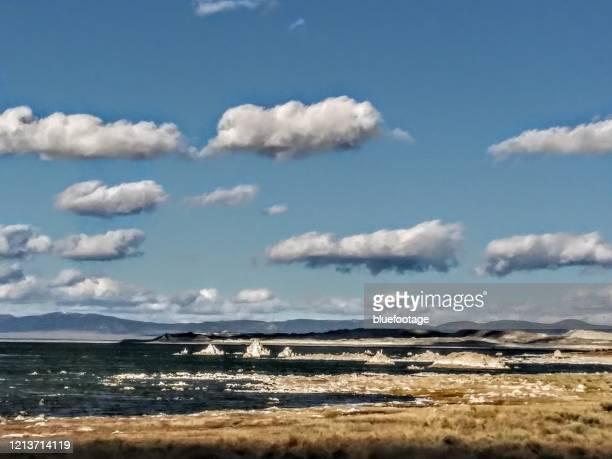 mono lake, california, usa - bluefootage stock pictures, royalty-free photos & images