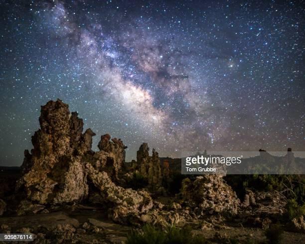 Mono Lake Milky Way Show
