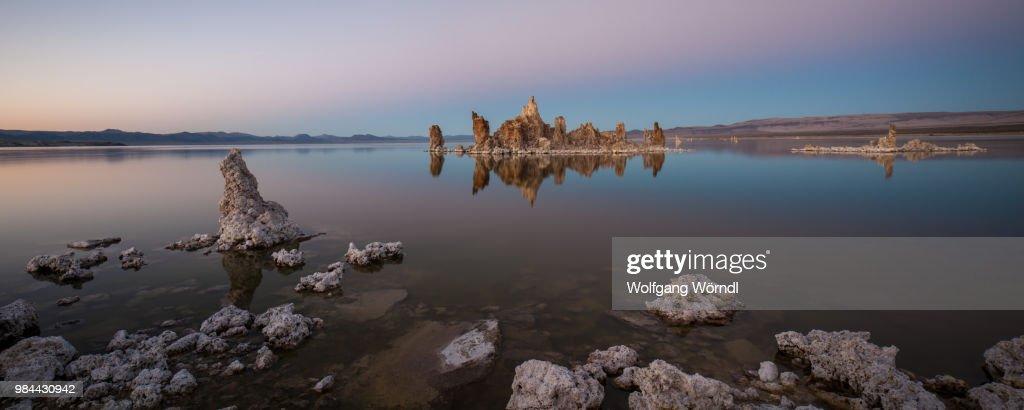 Mono Lake Panorama : Stock-Foto