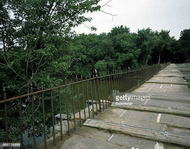 Monocacy Aqueduct in Montgomery County Maryland part of the Chesapeake and Ohio Canal system