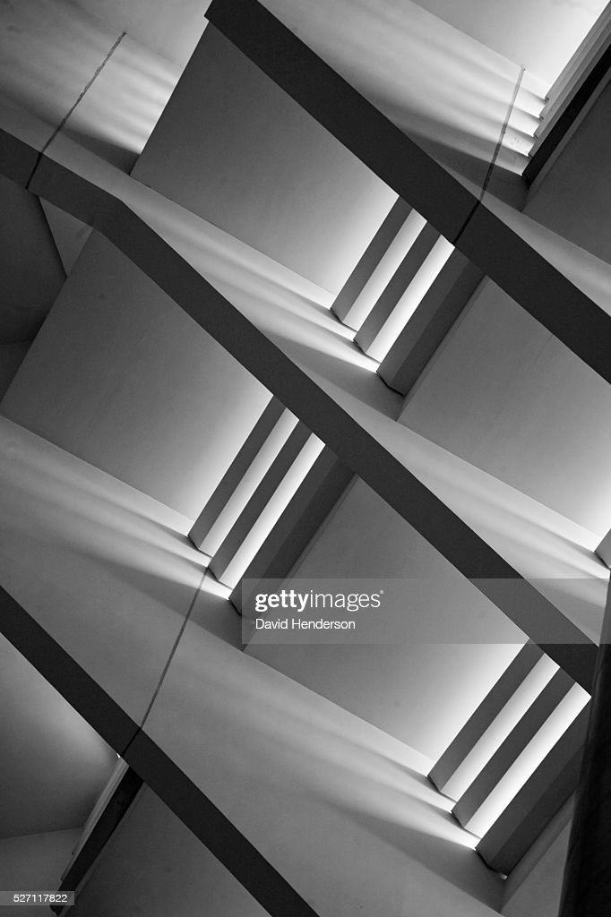 Monochrome roof design : Stockfoto