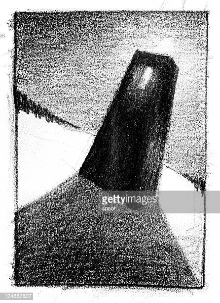 monolith - pencil drawing stock pictures, royalty-free photos & images