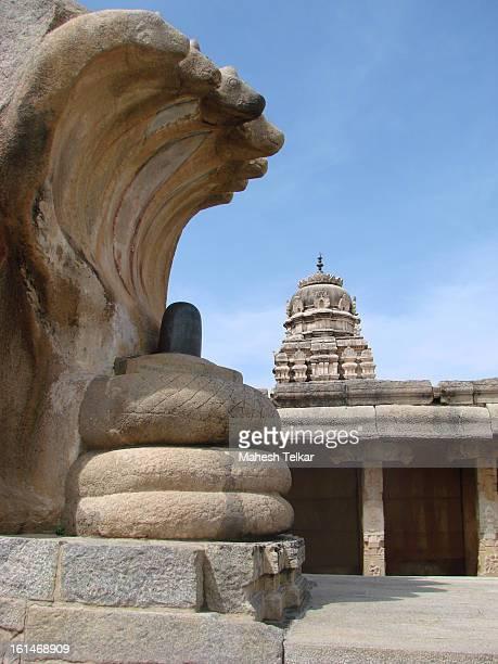 monolithic shiva lingam - lepakshi - shiva lingam stock pictures, royalty-free photos & images