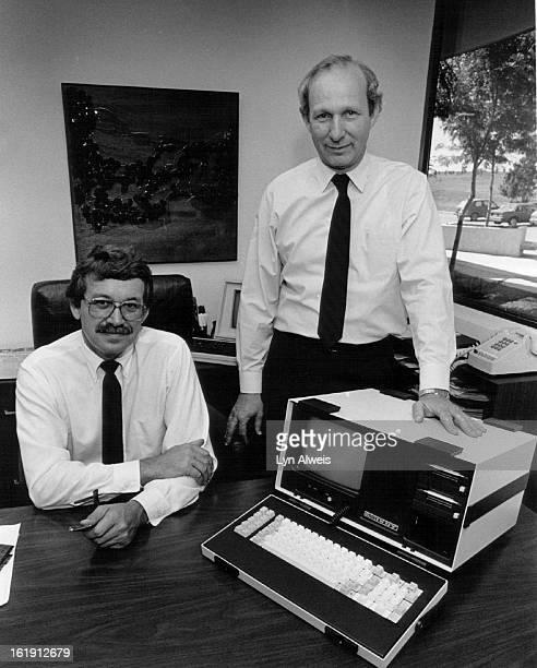 Monolithic Systems; Left, Gordon Perkins; Right, Hubert G. Devries;