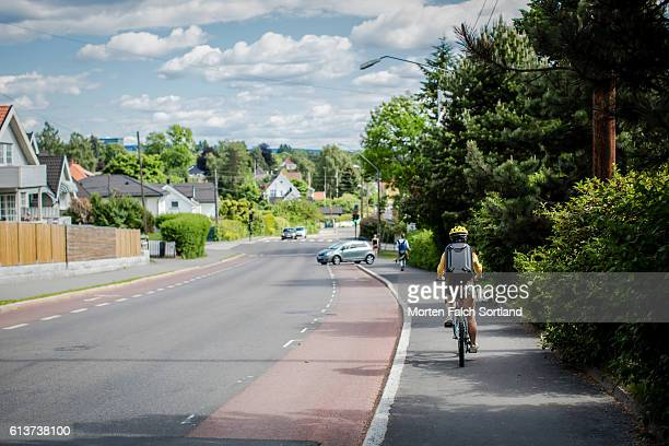 monolitveien in smestad - oslo stock pictures, royalty-free photos & images