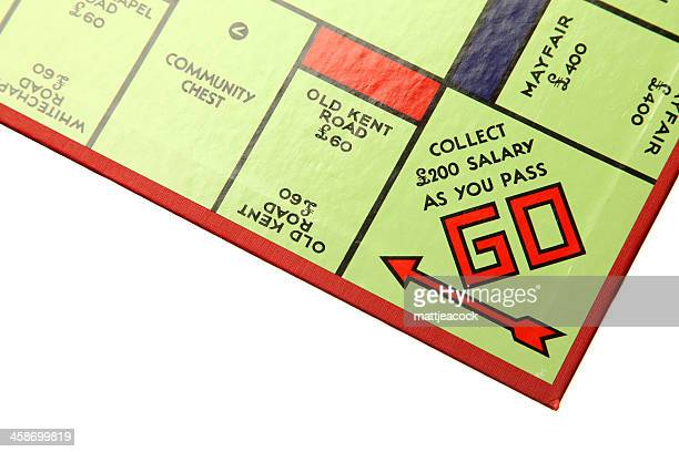 monopoly board - monopoly board game stock pictures, royalty-free photos & images