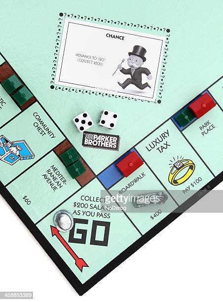 Monopoly game Go square
