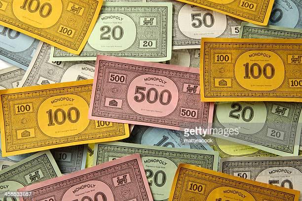 Monopoly game money