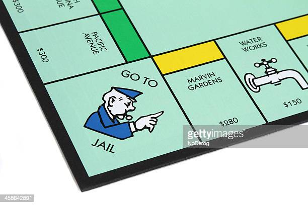 Monopoly game with Go to Jail corner
