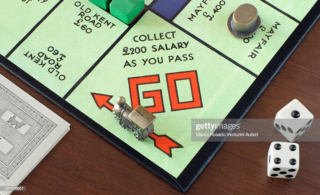 Monopoly's GO! : Stock Photo