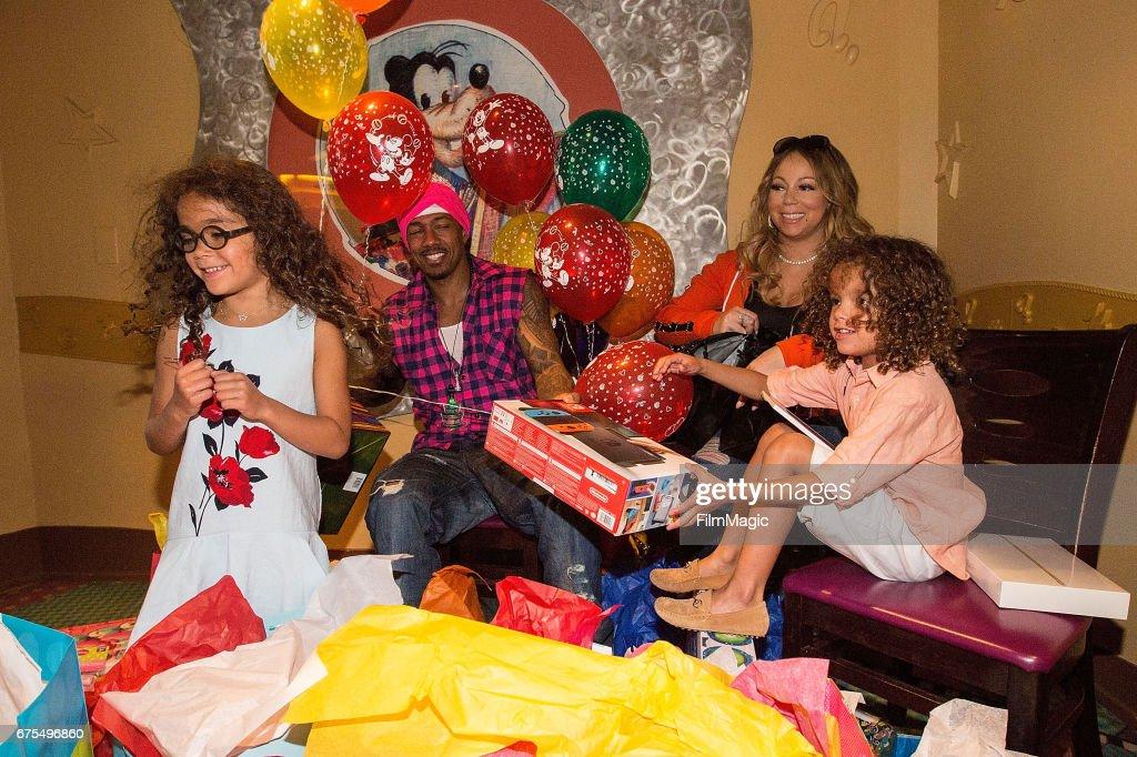Dem Babies Sixth Birthday Bash - Mariah Carey And Nick Cannon Celebrate Their Twins Sixth Birthday : News Photo