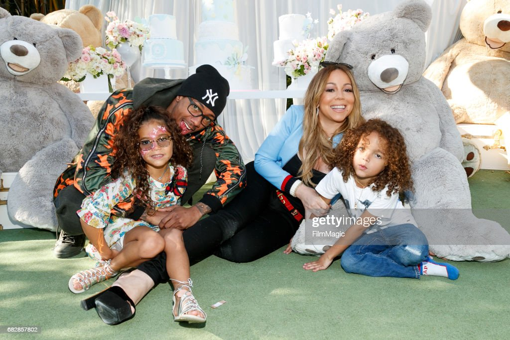 Moroccan Scott Cannon And Monroe Cannon Party Hosted By Mariah Carey and Nick Cannon : News Photo