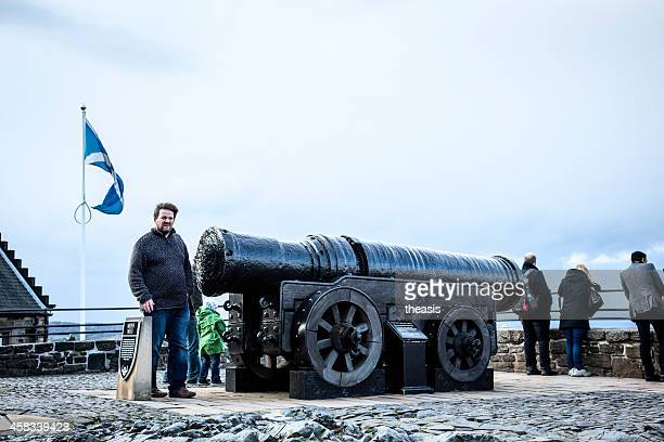 Mons Meg Cannon in Edinburgh Castle