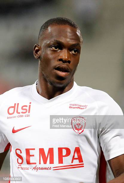 Mons Rogeani Bassouamina of Nancy during the French Ligue 2 match between Nancy and Le Havre on September 14 2018 in Nancy France