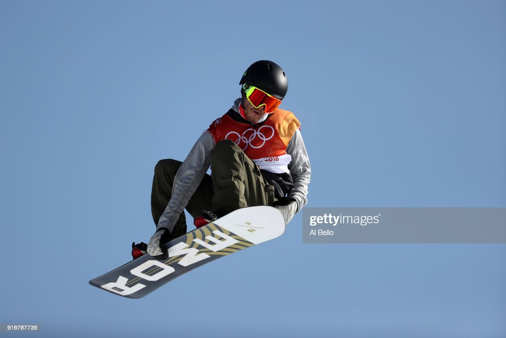 Mons Roisland of Norway competes during the Snowboard Men's Slopestyle Final on day two of the PyeongChang 2018 Winter Olympic Games at Phoenix Snow Park on February 11, 2018 in Pyeongchang-gun, South Korea.